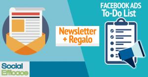 Newsletter + Regalo
