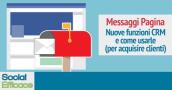 Blog 60 - messaggi Pagina CRM