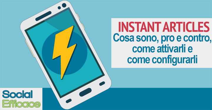 Blog 67 - instant articles