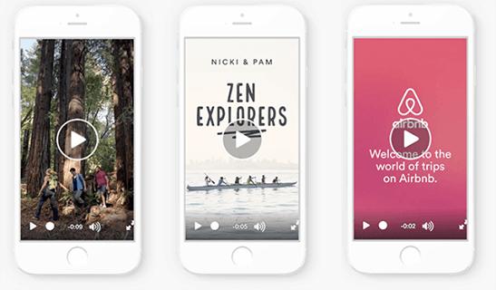posizionamento instagram stories - esempi