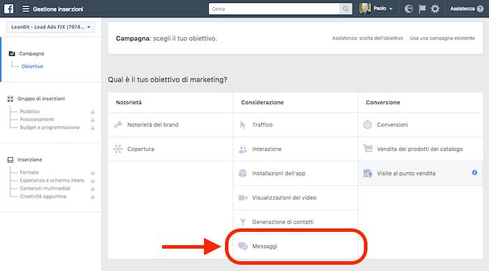 Top Obiettivo MESSAGGI: 3 modi di usare i Facebook ADS con Messenger BH13