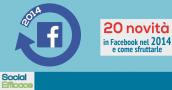 Cambiamenti Novità Facebook 2014