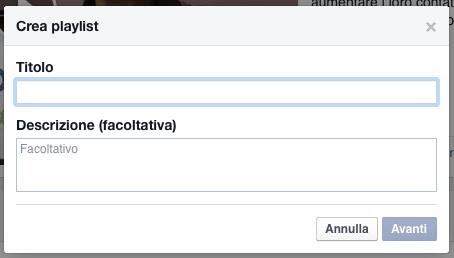 05 facebook video tab aggiungi playlist titolo descrizione