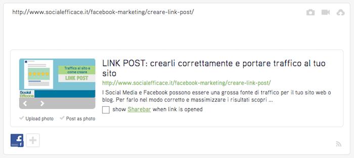 post planner crea post link