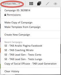 SHORTSTACK: creare APP per Pagina Facebook - Menu principale 02