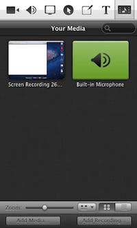 SCREENFLOW: creare e modificare video facilmente - menu media