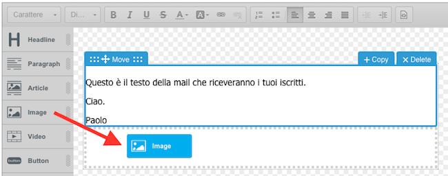19 aweber creazione email broadcast widget