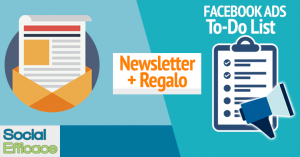 Newsletter + Regalo