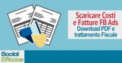 Blog 33 - scaricare costi fatture fb ads