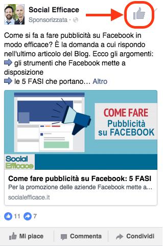 come aumentare mi piace pagina facebook - inserzioni con like pagina