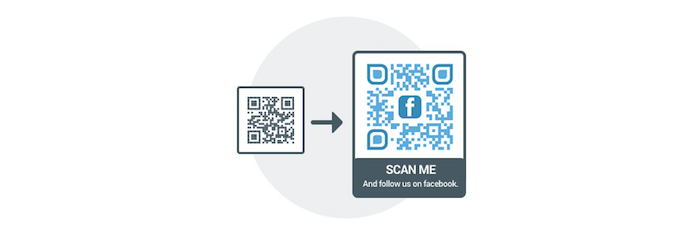 come aumentare mi piace pagina facebook - qr code