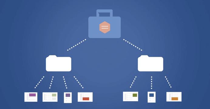 strumento creazione inserzioni - albero struttura