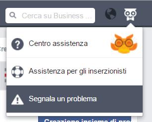 segnala-problema-assistenza-business-manager-gufo
