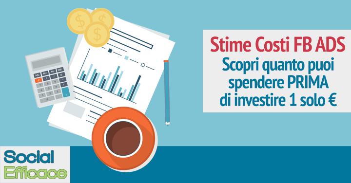 Blog 61 - stime costi ads