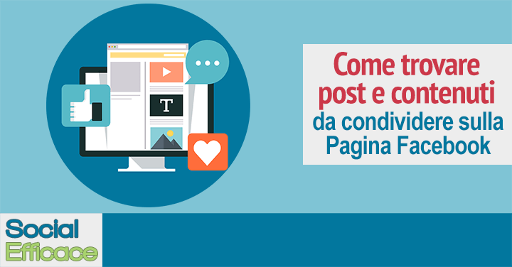 Blog 66 - trovare post condividere