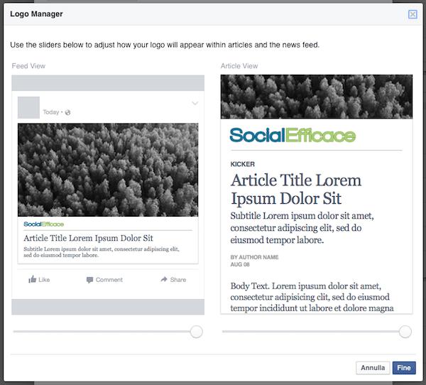 instant articles 20 - esempi testata preview