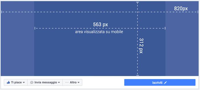 copertina pagina facebook - dimensioni pixel nuova cover