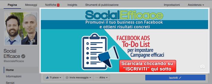 nuova grafica pagina fb - copertina
