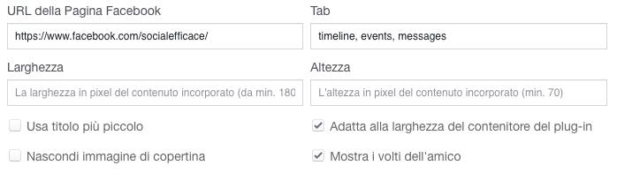 plugin-pagina-facebook-configurazione
