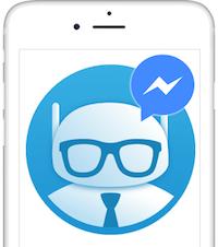 chatta con il bot messenger di social efficace