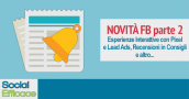 Blog 99 - novita FB parte 2