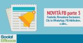 Blog 99 - novita FB parte 3